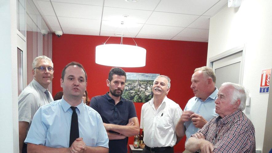 Le maintien des services de proximité, une priorité absolue pour la commune d'Argences-en-Aubrac à laquelle prend part le Crédit Agricole.