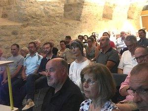 Plus de quatre-vingts personnes ont participé à cette rencontre.