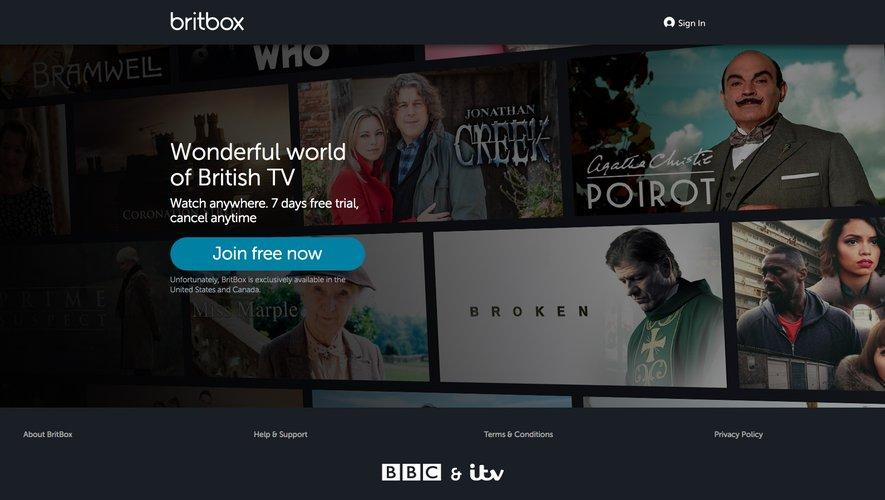 """Ce service en streaming, qui sera lancé au quatrième trimestre 2019, devrait proposer la """"plus grande collection de séries britanniques"""" pour un abonnement de 5,99 livres (6,66 euros) par mois"""
