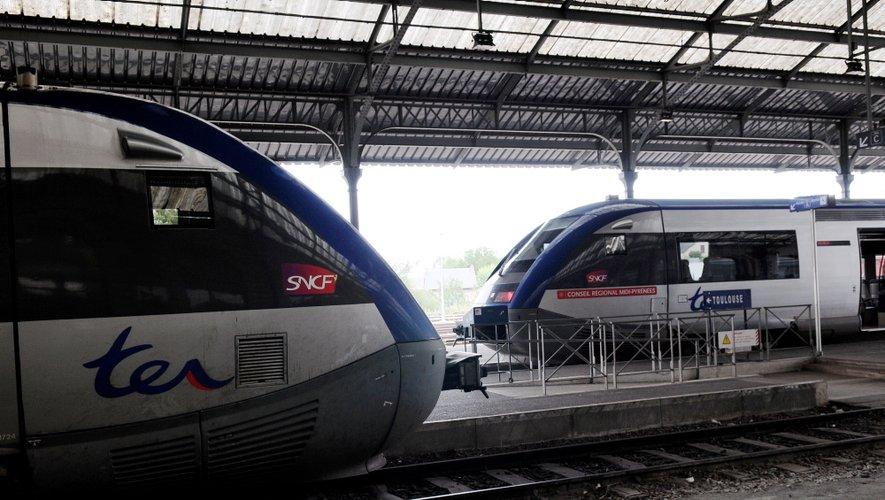 """Vendredi encore, la SNCF invite ses usagers à """"reporter leurs déplacements""""."""