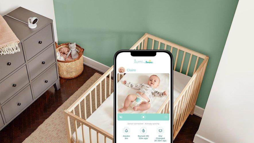 """""""Lumi Connected Care System"""", un système dévoilé par Pampers pour permettre aux parents de suivre l'évolution quotidienne de leur bébé, pas uniquement ses changements de couches"""