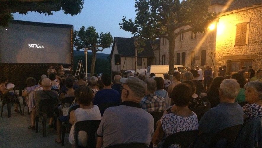 Un public ravi de cette soirée cinéma.