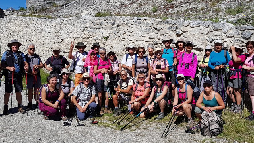 Les randonneurs en Haute Maurienne