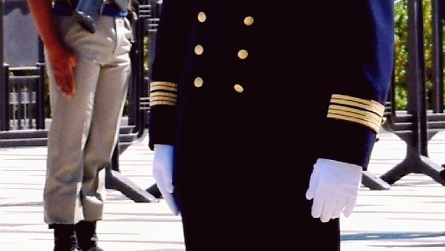 Le colonel Didier Gineste décoré de la Légion d'Honneur.