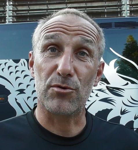 Laurent Peyrelade, l'entraîneur ruthénois, après le match face à Grenoble ce vendredi soir.