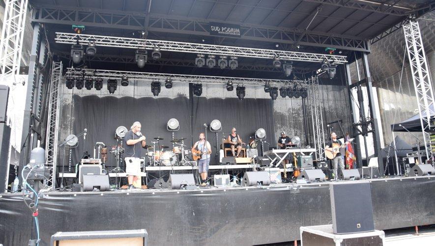 Le groupe Mask Ha Gazh en répétition, dans l'après-midi.