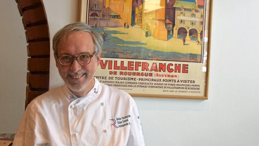 Né à Bordeaux, Didier Désert est un ambassadeur passionné des richesses de l'Auvergne et du Rouergue. Rui Dos Santos