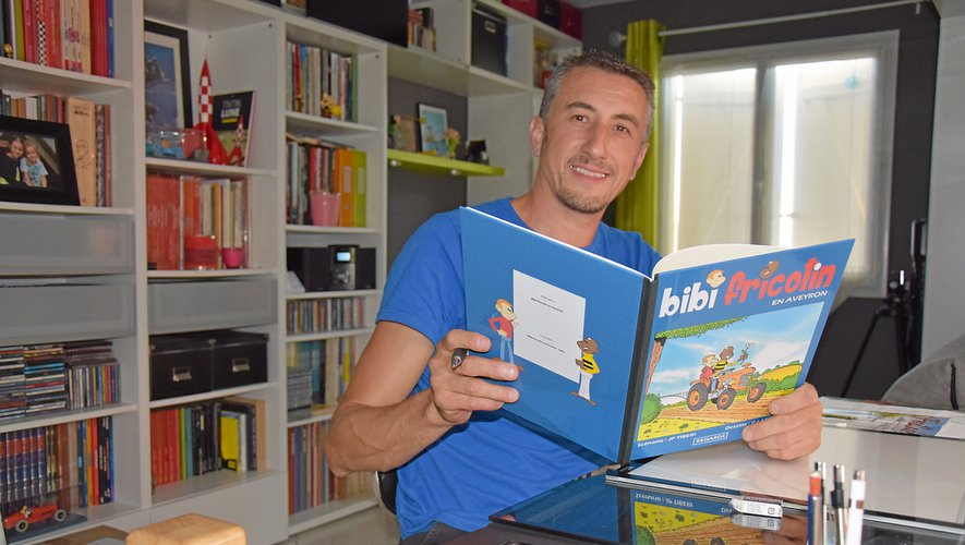 Lauréat du premier prix du festival Luz'en bulles en 2018 à Saint-Georges-de-Luzençon, le Naucellois Philippe Laffitte est le nouveau dessinateur de Bibi Fricotin, dont l'histoire du 125e album se déroule entièrement en Aveyron.