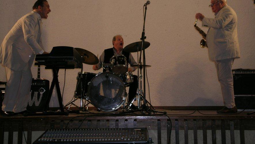 Daniel Huck avec Fred Bonnet et Fabrice Eulry.