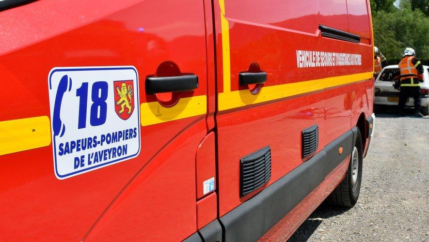 Nouvelle intervention des pompiers en milieu agricole.