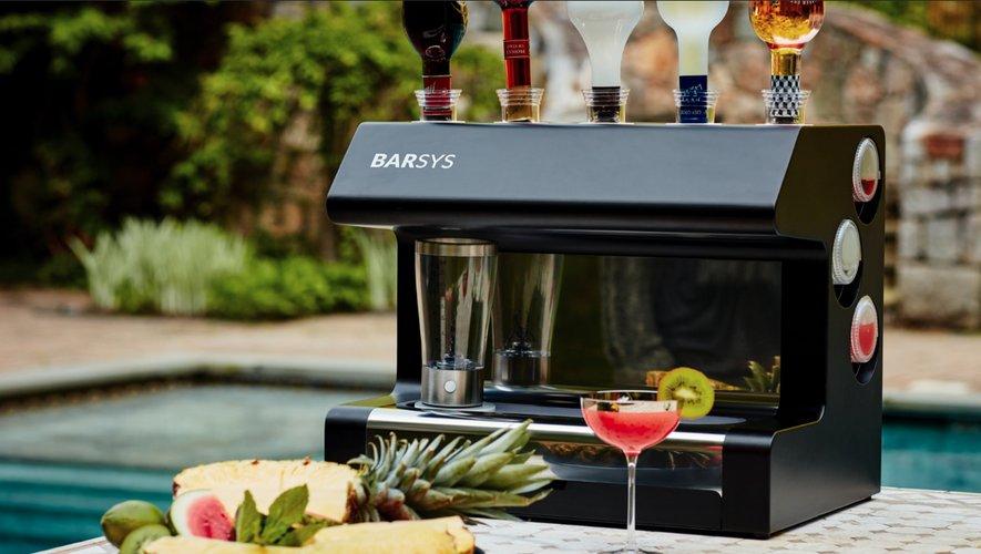 Le Barsys 2.0, un barman robotisé chez soi