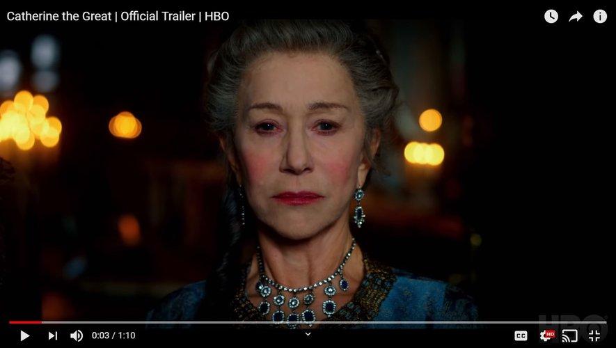 """Helen Mirren signe son retour à la télévision avec cette mini-série """"Catherine the Great"""" pour HBO."""