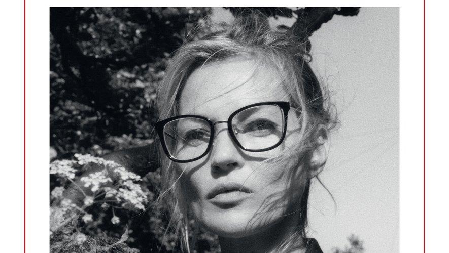 Kate Moss pour la campagne automne/hiver 2019 d'Alexander McQueen