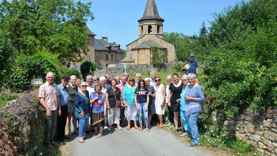Les premiers adhérents de l'association se sont retrouvés le 7 juillet pour un repas partagé, après la messe.