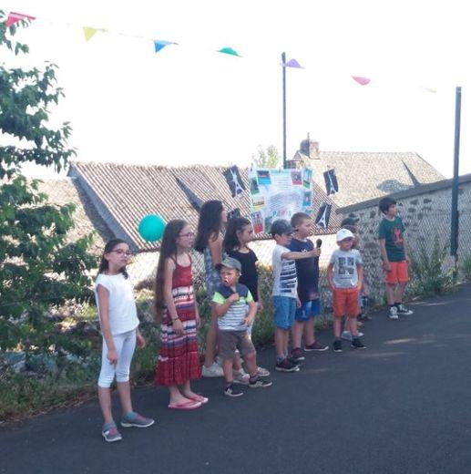 La kermesse de l'école a permis aux enfants de clore cette année tous ensemble et de façon festive.