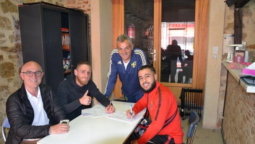 Les ex-Villefranchois, Kévin Stimbach et Hamza Laachari ont signé depuis plusieurs semaines. Nous présenterons les autres recrues après le 6 août.