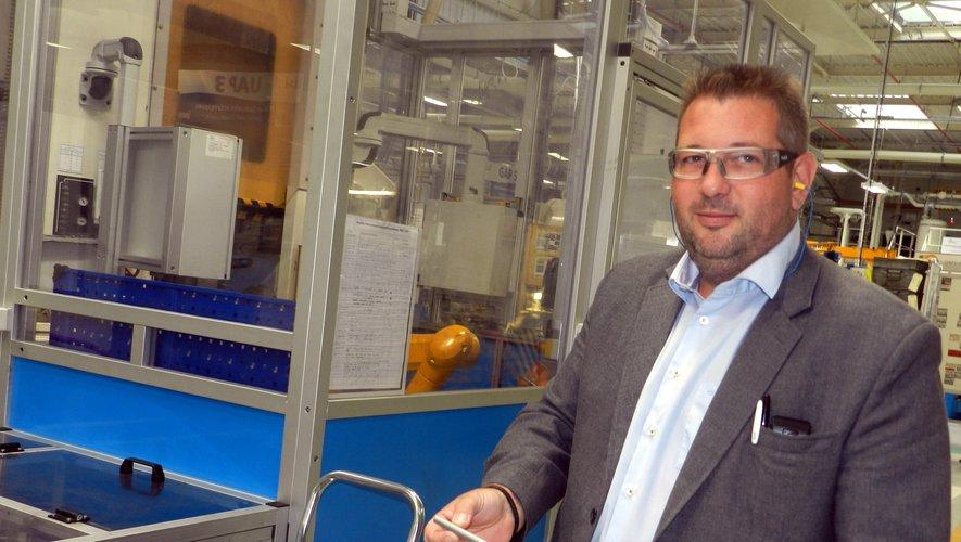 Johan Fabre, le directeur du site de Villefranche de Lisi Aérospace.