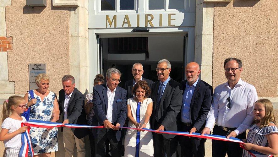 Inauguration de la mairie centre social pour mise en accessibilité
