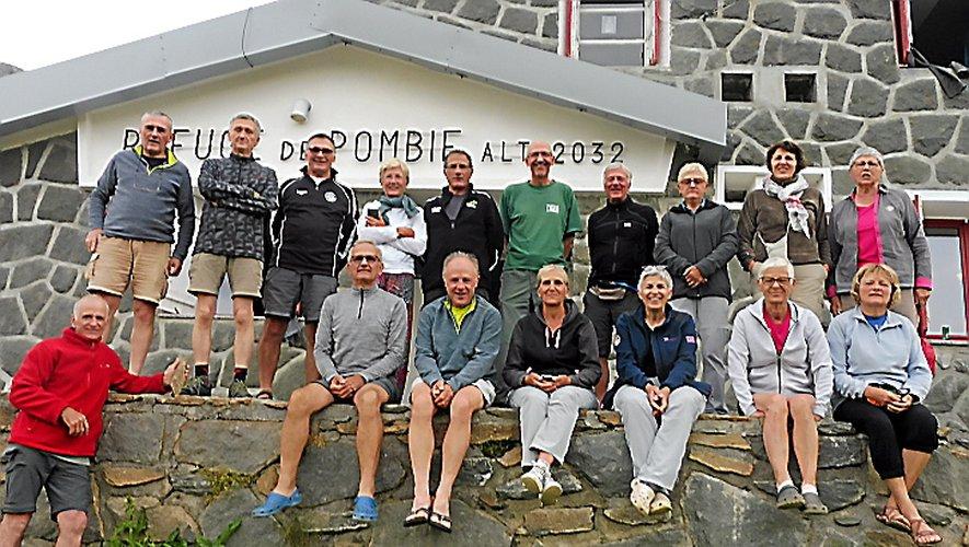 Les participants à ce séjour au refuge de Pombie.