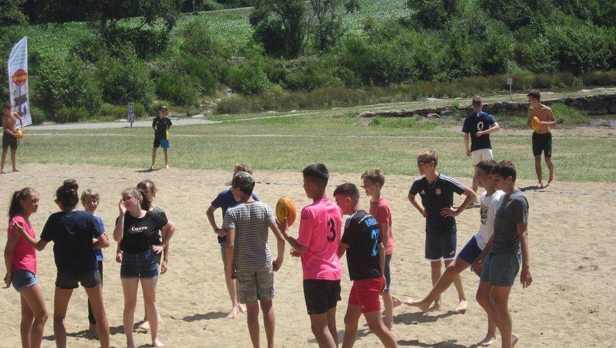 24 jeunes compétiteurs pour ces parties de rugby sans contact