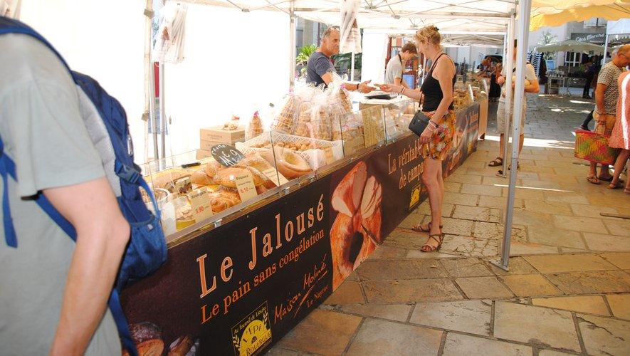 L'épi du Rouergue est déjà présent sur les deux marchés hebdomadaires de Millau.