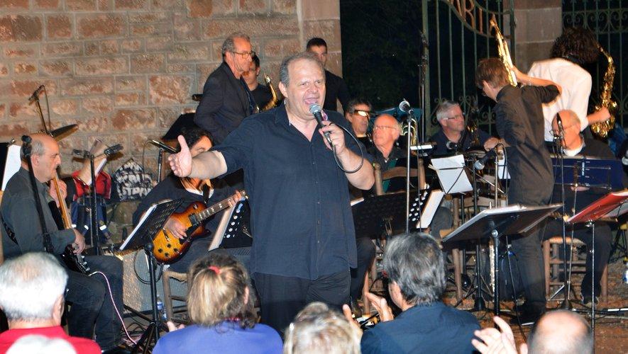 Fred Bonnet et le Big band d'Espalion animeront la soirée (photo archives)