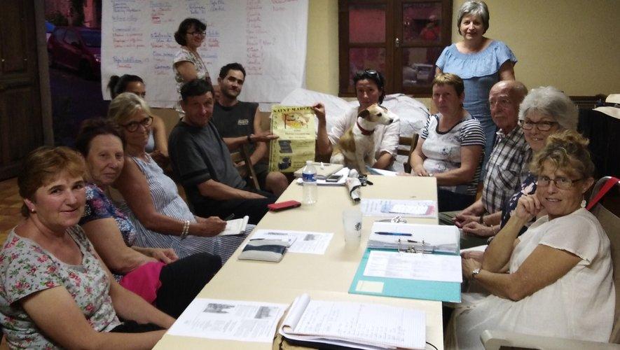 Les membres de l'association « Les amis de Saint-Marcel » préparent les festivités du samedi 27 juillet.
