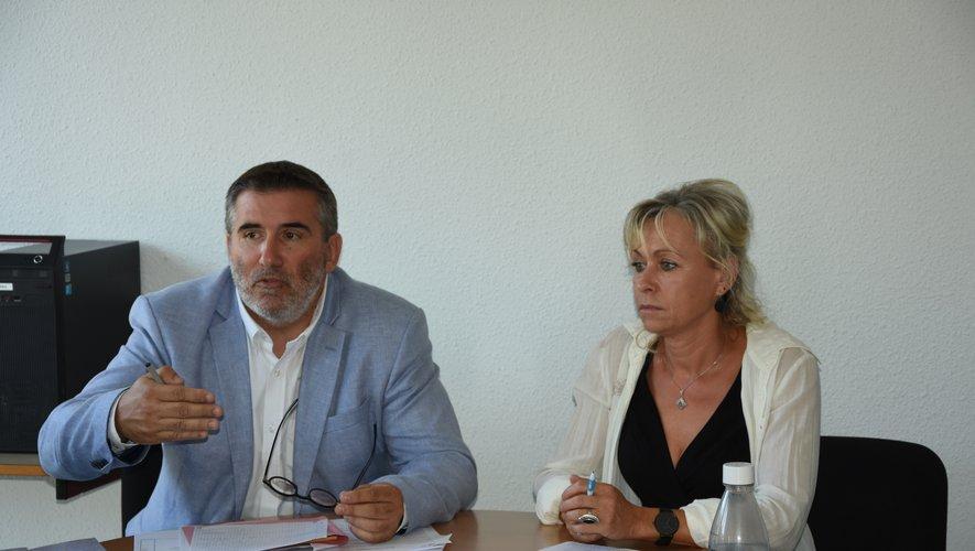 Espace emploi et présidé par David Delpérié et dirigé par Corinne Pumon.