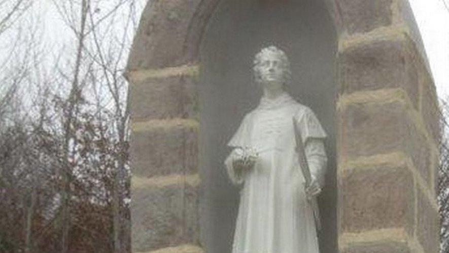 La statue de Saint-Vincent a été rénovée.