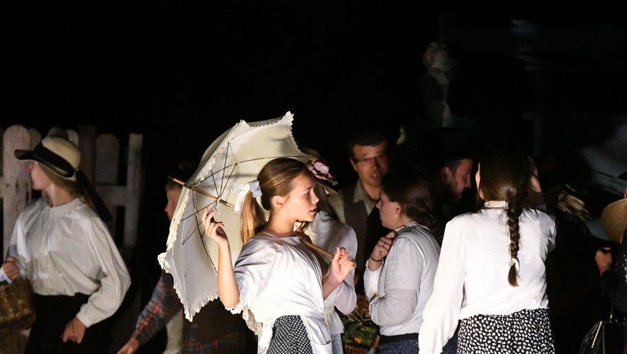 Un spectacle en costumes d'époque.  Photo archives SM.