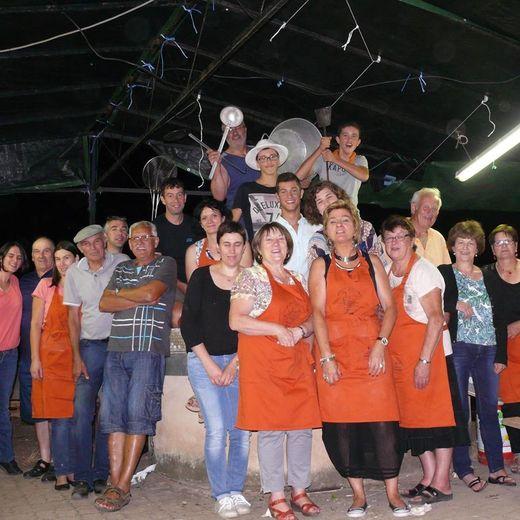 Des bénévoles motivéspour que la fête soit un succès.