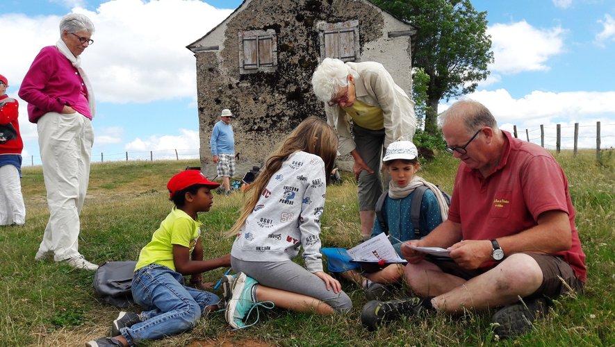 Le comptage des papillons dans le cadre du programme Noe a passionné petits et grands.
