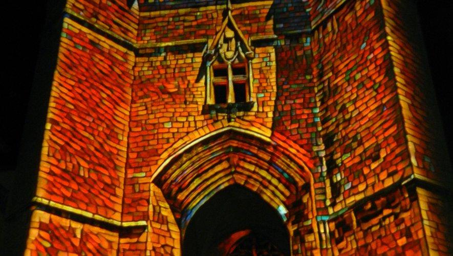 L'histoire de la ville mise en lumière sur les murs