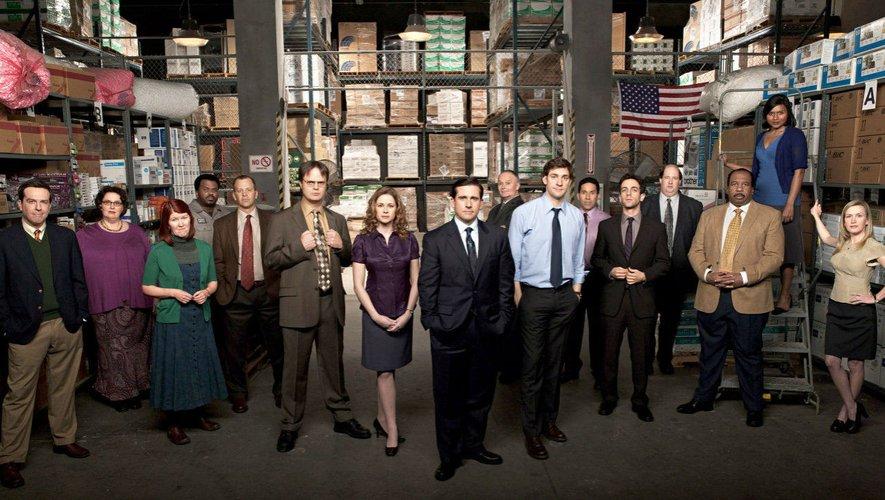 """La comédie """"The Office"""" a aidé à lancer les carrières de Steve Carell et de John Krasinski"""