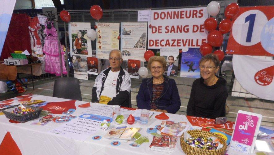 Les donneurs de sang vous attendent nombreux au Laminoir, à Decazeville.