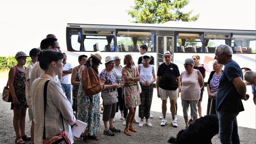 Le groupe a été accueilli sur la ferme de Françis Bony, éleveur de bufflonnes.