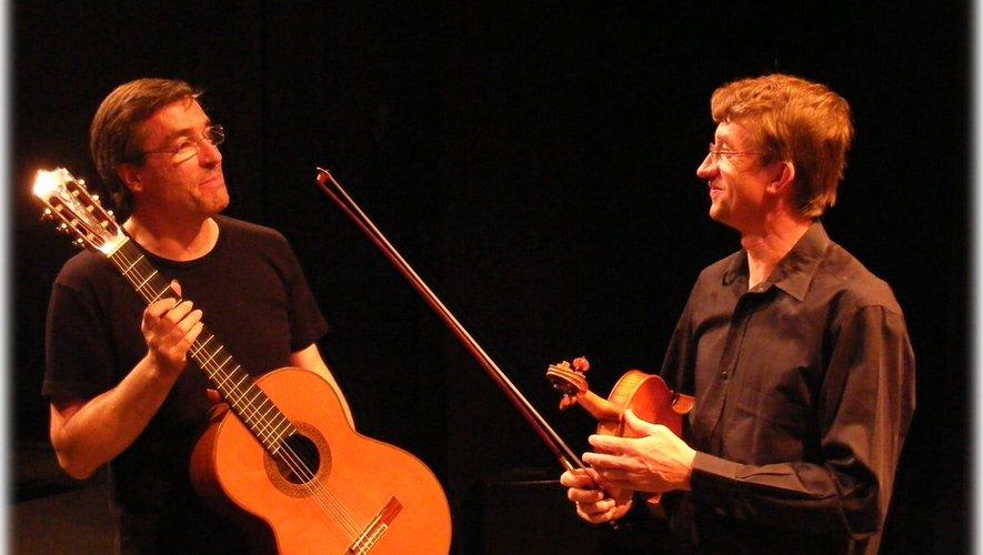 Philippe Wucher et Christophe Louboutin à la chapelle des Pénitents