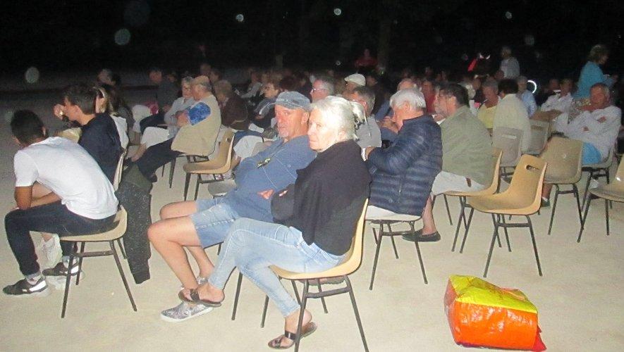 Une soirée originale et appréciée de tous les spectateurs.