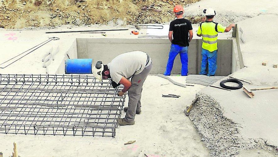 Un deuxième réservoir d'eau construit au Breil