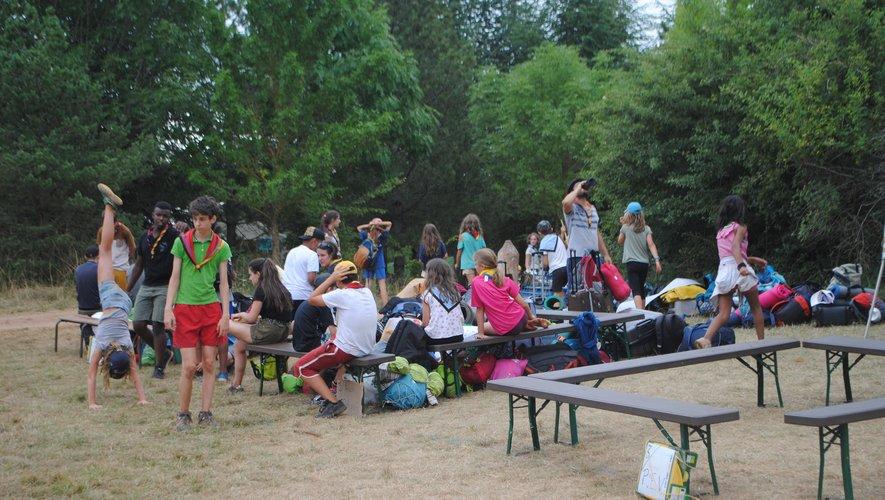 Des jeunes de 6 à 18 ans, répartis en groupes d'âge, ont investi les lieux jusqu'au 26 juillet.(L. V.)