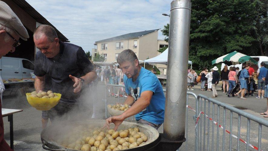 Les pommes de terre, reines de la fête.
