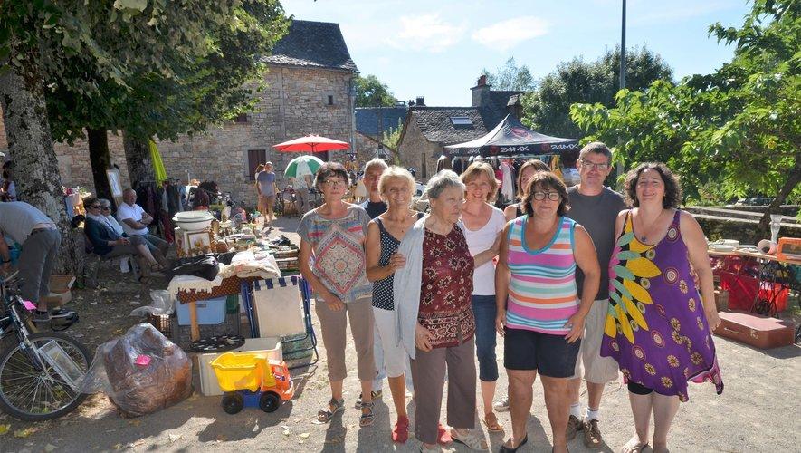 C'est toute une équipe d'habitants de Cadayrac qui se mobilise chaque année pour l'animation d'été du village, comme ici en 2018.