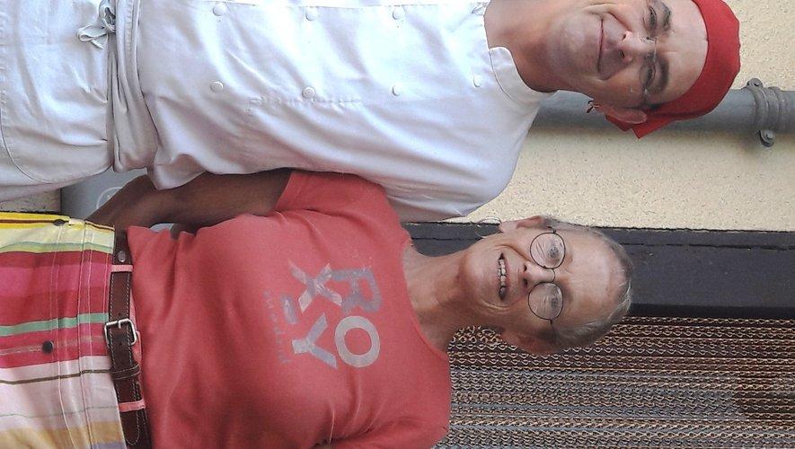Guilhem et Sheila, les nouveaux gérants qui veulent cuisiner aux saveurs locales.