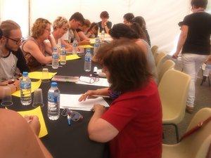 Un atelier d'écriture mené par l'écrivaine Martine Gobbi a réuni seize lectrices et lecteurs qui ont pris plaisir à écrire.