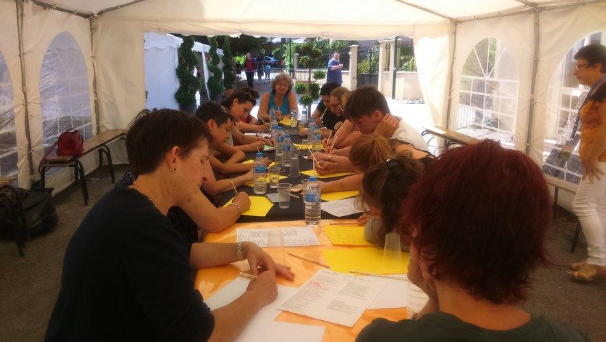 Festival de la BD : un atelier d'écriture qui a remporté un franc succès