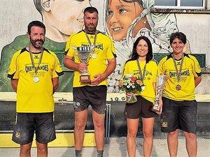 Les médaillés gageois (manque Thomas Jacquemet).