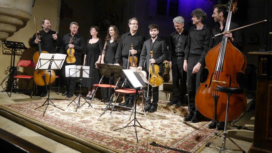 Des instrumentistes pour la plupart membres de l'orchestre national de l'Opéra de Paris.