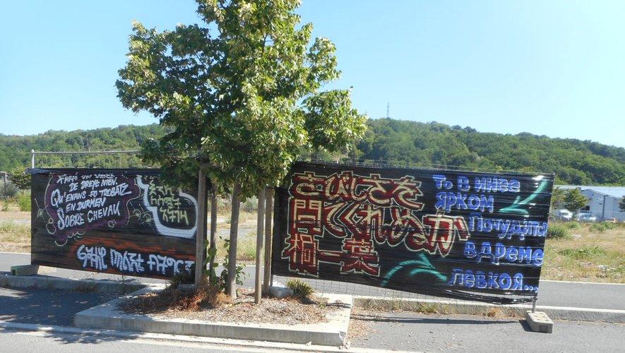 Le street art des langues à la zone du Centre