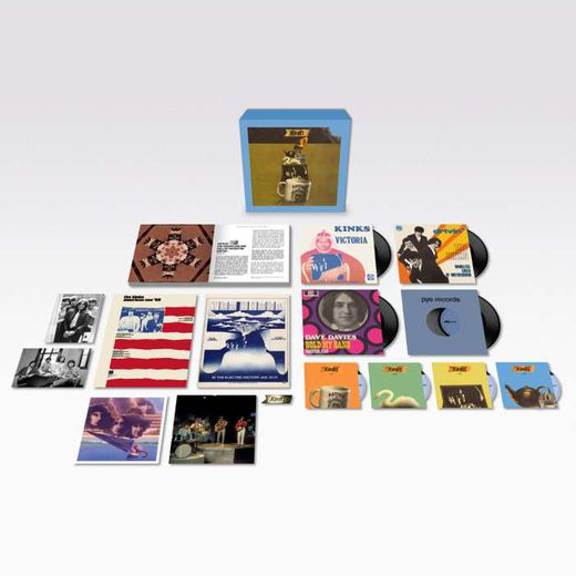 """Arthur or the decline and fall of the british empire deluxe box "" de The Kinks."