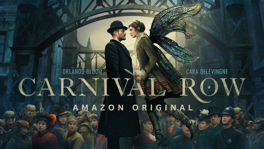 """""""Carnival Row"""" réunit Cara Delevingne et Orlando Bloom"""
